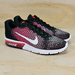 NEW Nike Air Max Sequent 2 Pink Black White